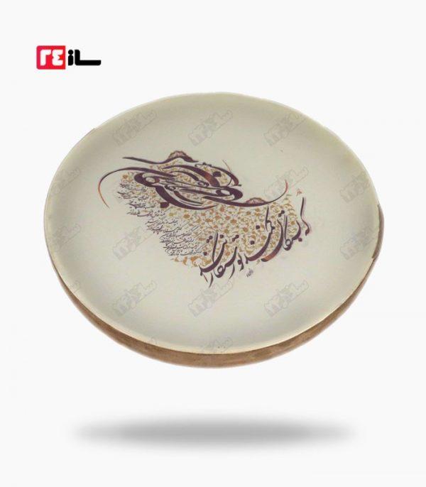 دف حبیبی طرح دار دور چرم