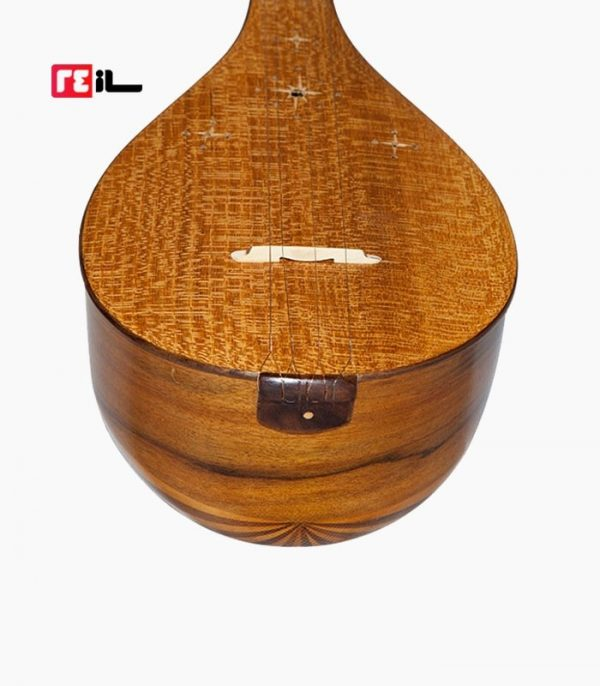 سه تار صادق عظیمی کاسه ۱۷ ترک بغل دسته آبنوس پنجه سنتی