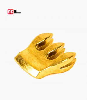 سوردین ویولن فلزی طلایی