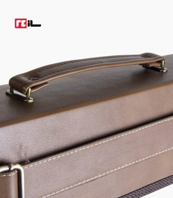 کیف 20 تایی چرم طبیعی دست دوز