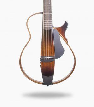 گیتار آکوستیک سایلنت yamaha slg 200s tobacco sun burst