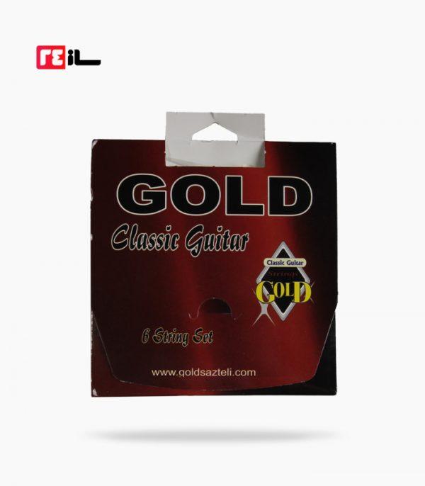 سيم گيتار کلاسيک گلد gold
