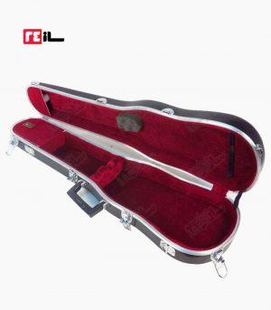 جعبه ویولن ایرانی مشکی فایبرگلاس